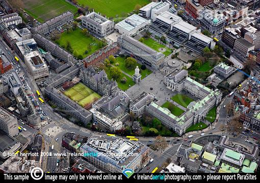 Trinity College Library Dublin Wikipedia Trinity College Dublin Aerial