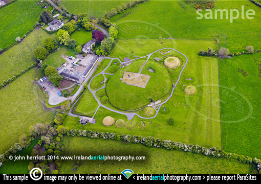 Knowth aerial