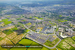 Apple Cork jobs announcement. Aerial photo from Hollyhill