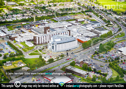 Cork University Hospital, Wilton, Cork  Aerial view