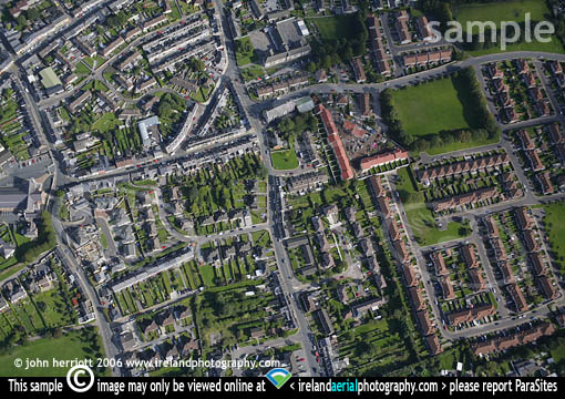 Aerial Plan View Of Pouladuff Road Cork Photography By John