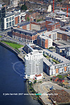 Clarion Hotel Limerick from the air