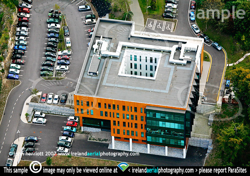 Tellengana house blackrock aerial view of office for Citco headquarters
