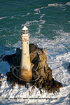 Fastnet lighthouse, high seas
