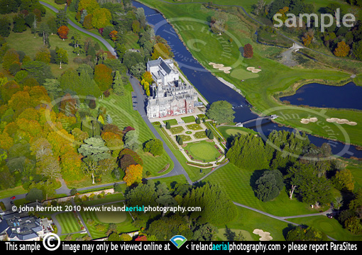 Aerial photo of Adare Manor Hotel and Golf resort, Co ... Golf Resort